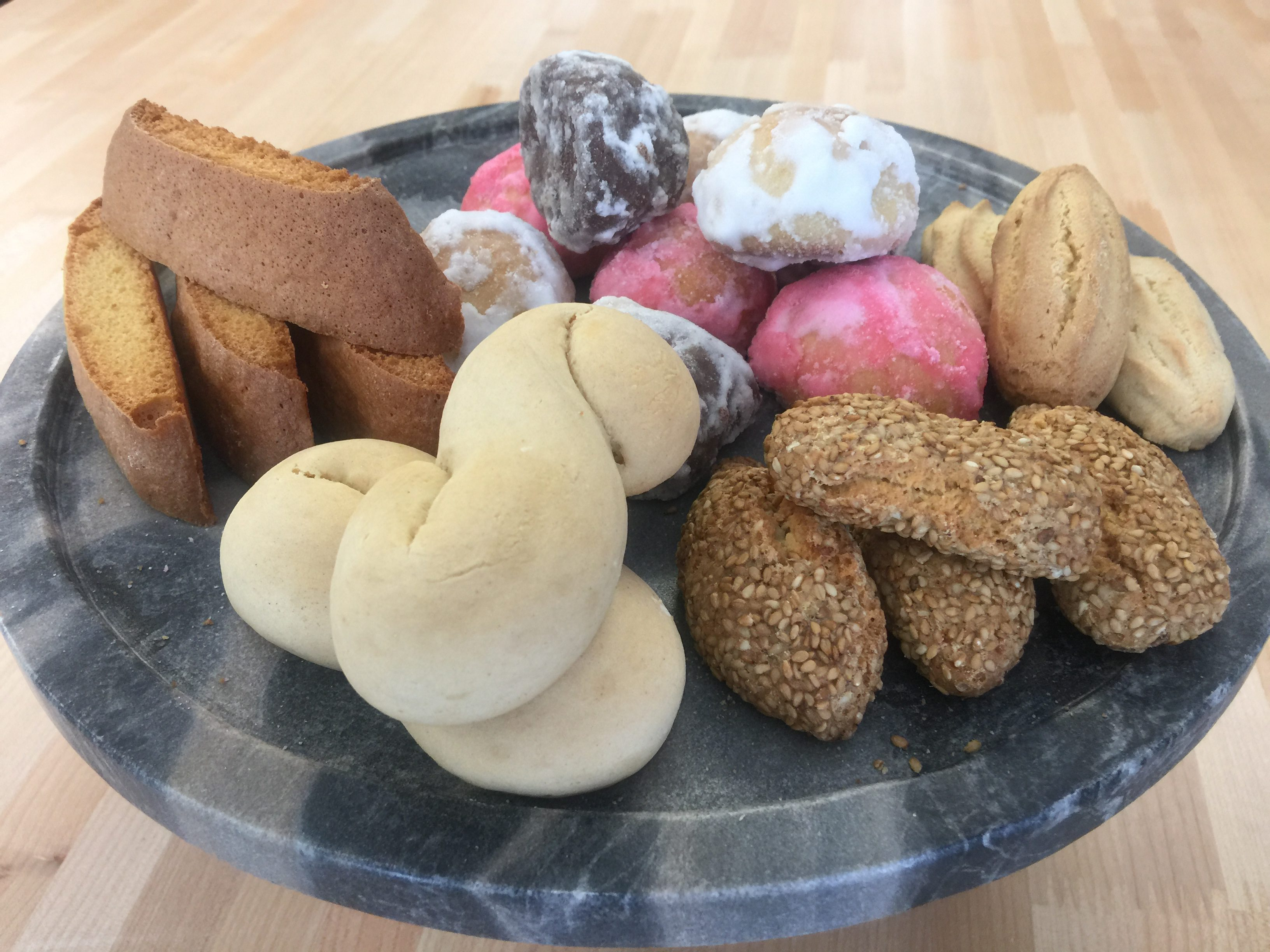 Cookies, Cannolis and more Cookies
